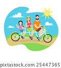 family bicycle bike 25447365