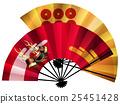Folding fan (Masada Yukimura's helmet and six sentences) 25451428