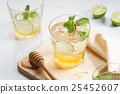 lime honey iced drinks 25452607