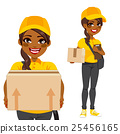 African American Courier 25456165