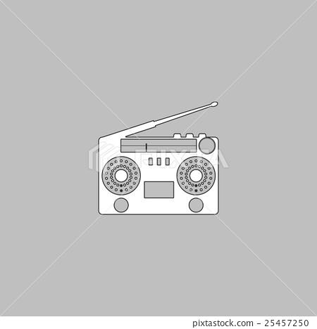 boombox computer symbol 25457250