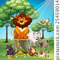 Many animals in the safari 25459014