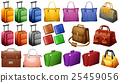 Different types of luggages 25459056