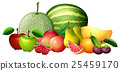 Different kinds of fresh fruit 25459170