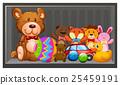 玩具 泰迪熊 货架 25459191