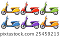 Scooters in six different colors 25459213