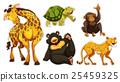 set, wildlife, sticker 25459325