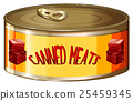 Meats in aluminum can 25459345