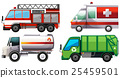 Different types of service trucks 25459501