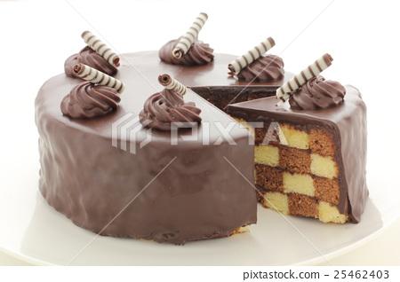 San Sebastian Cake Stock Photo 25462403 Pixta