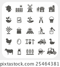 icon, vector, farming 25464381