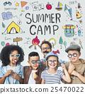 Summer Kids Camp Adventure Explore Concept 25470022