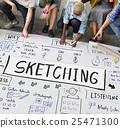 design, handwriting, ideas 25471300