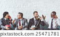 Business Workers Corporate Sitting Concept 25471781