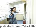 少女 學生 高中女生 25474182