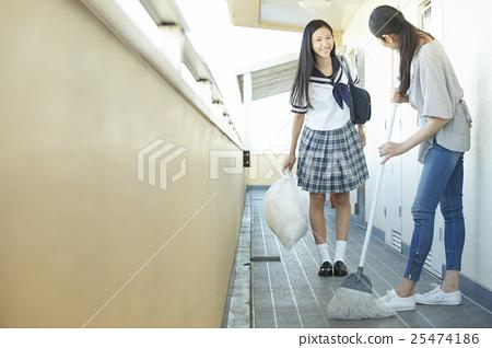 學校女生高中生 25474186