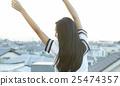 學校女孩高中肖像 25474357