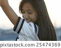 學校女孩高中肖像 25474369