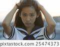 學校女孩高中肖像 25474373