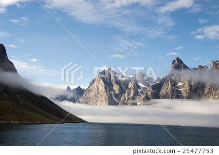 Mountain view in Greenland 25477753