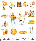 pizza, people, chef 25480562
