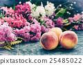 peach, flower, fruit 25485022