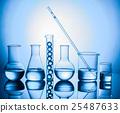 Still life with scientific glassware 25487633