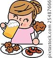 矢量 肥胖 減肥 25487666