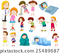 Doctor and many sick patients 25489687