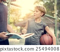 Basketball Athlete Sport Skill Playing Exercise Concept 25494008