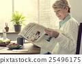 leisure, newspaper, reading 25496175