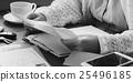 adult, letter, reading 25496185