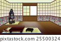 Traditional Japanese Room Interior 25500324