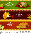 mexican, cuisine, vector 25500393