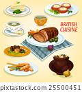 british, cuisine, vector 25500451