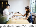 lunch, couple, date 25509063