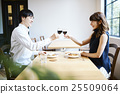 lunch, couple, date 25509064