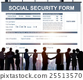 Social Security Form Application Concept 25513570