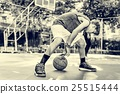 Basketball Athlete Sport Skill Playing Exercise Concept 25515444