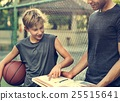 Basketball Athlete Sport Skill Playing Exercise Concept 25515641