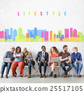 Lifestyle Chill Relax Fun Enjoyment Graphic Concept 25517105