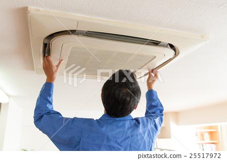 天花板嵌入式空調的維護 25517972
