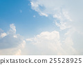 clouds white soft in the vast blue sky 25528925