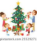 裝飾在聖誕樹 25529271