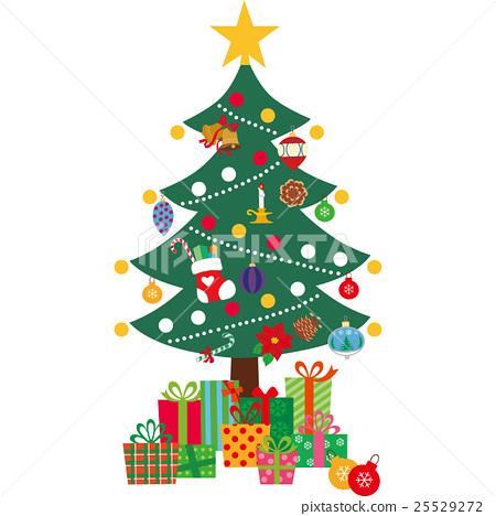 Christmas Tree Stock Illustration 25529272 Pixta