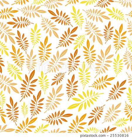 Seamless leaf pattern. 25530816