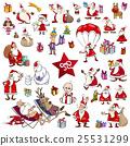 christmas cartoons set 25531299
