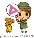 Onna-nogo Information Team (Green) Triangle 25539970