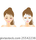 face-mask, face mark, variation 25542236