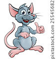 Cute Cartoon Mouse or Rat 25545682